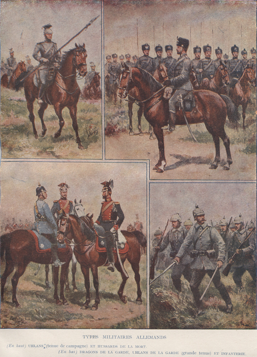 Types militaires allemands